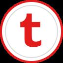 brand, logo, media, social, tumblr icon