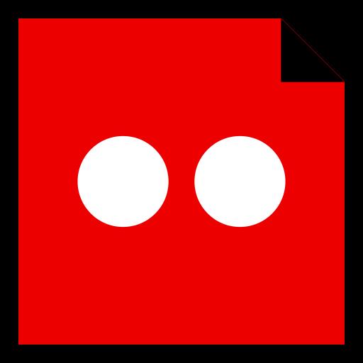 brand, flickr, logo, media, social icon
