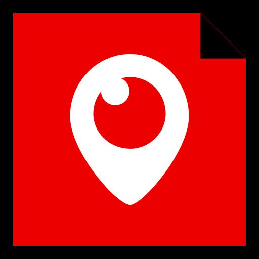 brand, logo, media, periscope, social icon