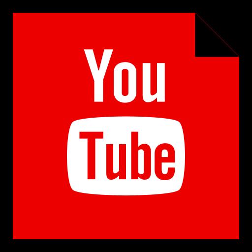 brand, logo, media, social, youtube icon