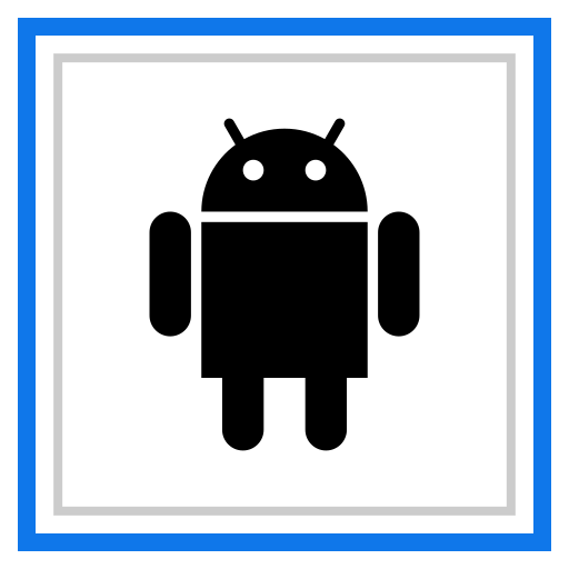 android, channel, media, social icon