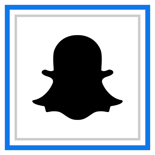channel, media, snapchat, social icon