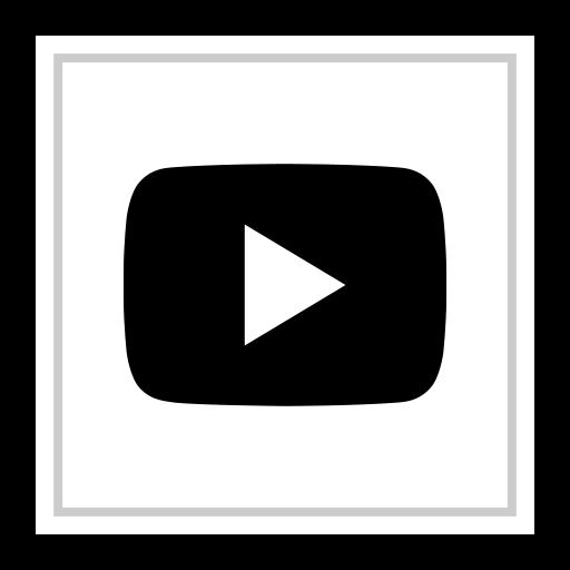 logo, media, play, social, youtube icon
