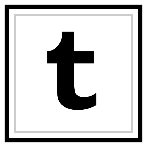 logo, media, social, tumblr icon