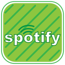 cloud, music, playlists, songs, spotify, stream, streaming icon