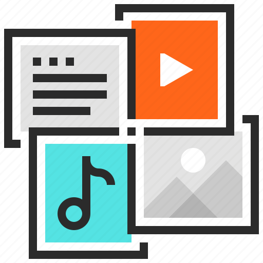 Document, file, image, media, multimedia, music, video icon - Download on Iconfinder