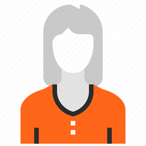 Account, avatar, female, human, person, profile, user icon - Download on Iconfinder