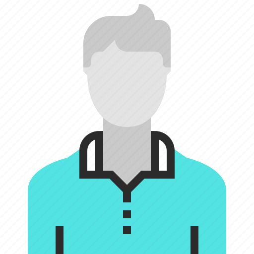 Account, avatar, human, male, person, profile, user icon - Download on Iconfinder