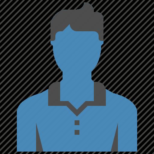 account, avatar, human, male, person, profile, user icon
