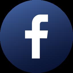 circle, colored, facebook, gradient, media, social, social media icon