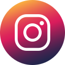 social media, colored, gradient, media, social, circle, instagram