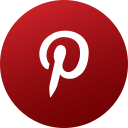 circle, colored, gradient, media, pinterest, social, social media icon
