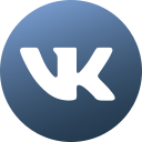 circle, colored, gradient, media, social, social media, vk icon