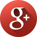 circle, google plus, high quality, long shadow, media, social, social media icon
