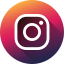 circle, high quality, instagram, long shadow, media, social, social media icon
