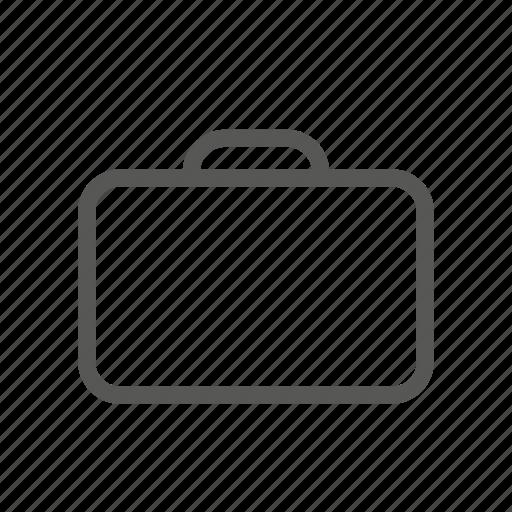 bag, baggage, briefcase, case, luggage, suitcase, vaise icon