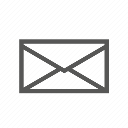 email, inbox, mail, message, new, notification, unread icon