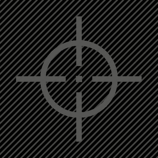 accuracy, accurate, aim, bullseye, crosshair, goal, target icon