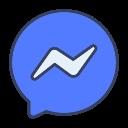 facebook, media, messenger, social icon