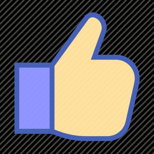 facebook, interface, like hand, media, social, thumb up, user icon