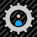 gear, media, profile, setting, social