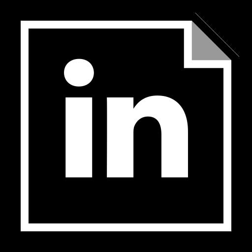 linkedin, media, social icon
