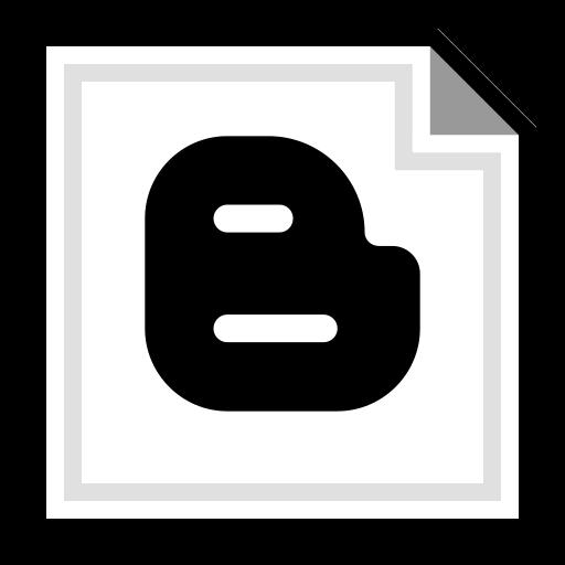 blogger, brand, online icon