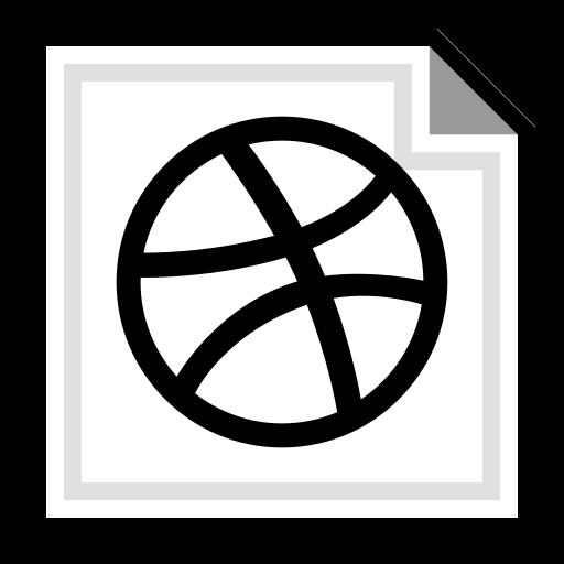 brand, dribbble, online icon