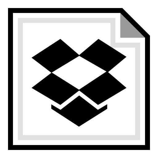 brand, dropbox, online icon