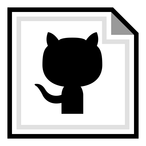 brand, github, online icon