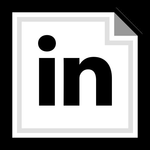 brand, linkedin, online icon
