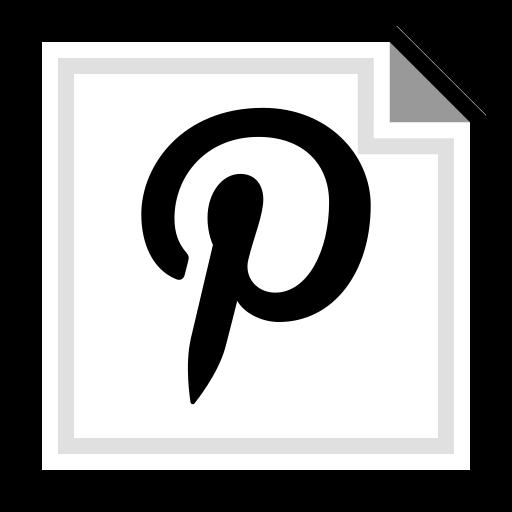 brand, online, pinterest icon