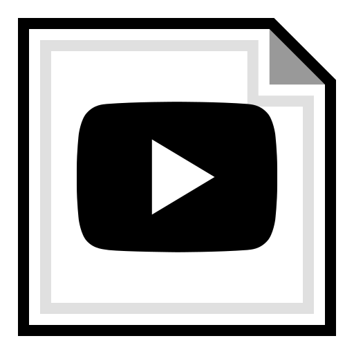 brand, online, play, youtube icon