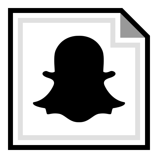 brand, online, snapchat icon