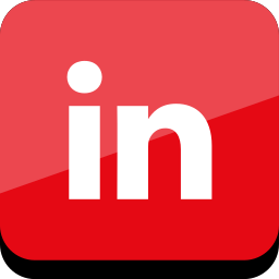 connect, in, linked, media, online, social icon