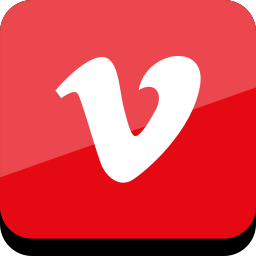 connect, media, online, social, vimeo icon