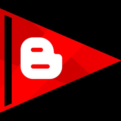 blogger, media, online, social icon