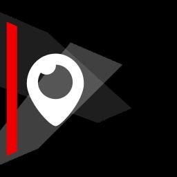 media, online, periscope, social icon