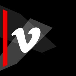 media, online, social, vimeo icon