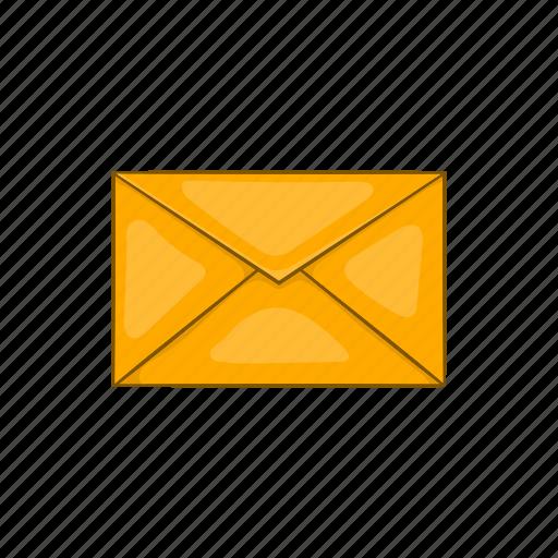 cartoon, communication, design, envelope, mail, message, sign icon