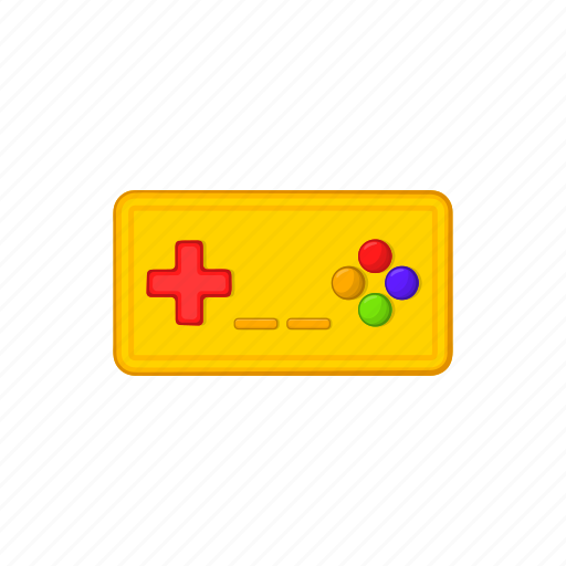 cartoon, console, controller, game, joystick, pad, sign icon
