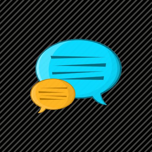 bubble, cartoon, design, illustration, message, sign, speech icon