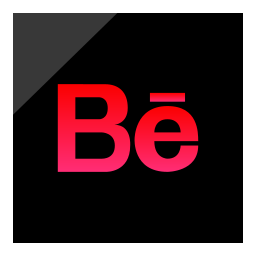 behance, logo, media, social icon