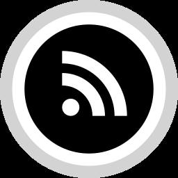 logo, media, rss, social icon