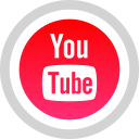 logo, media, social, youtube icon