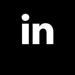 linkedin, logo, media, social icon