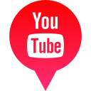 logo, media, social, tube, you