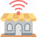 connection, free, hotspot, internet, signal, wifi, wireless icon