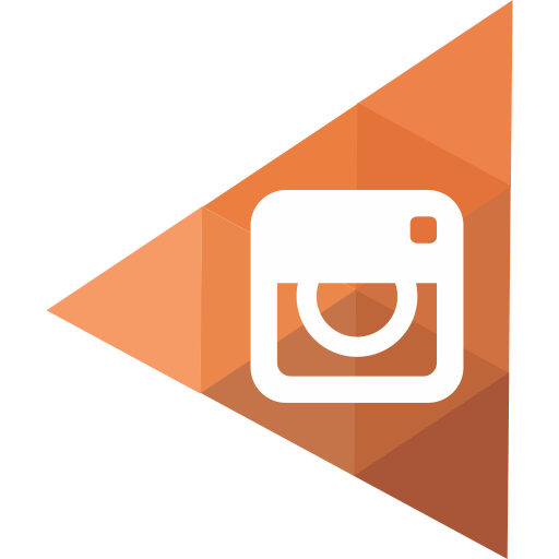instagram, lowpoly, socialmedia icon