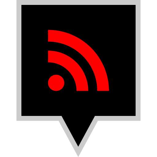 brand, logo, rss, social icon